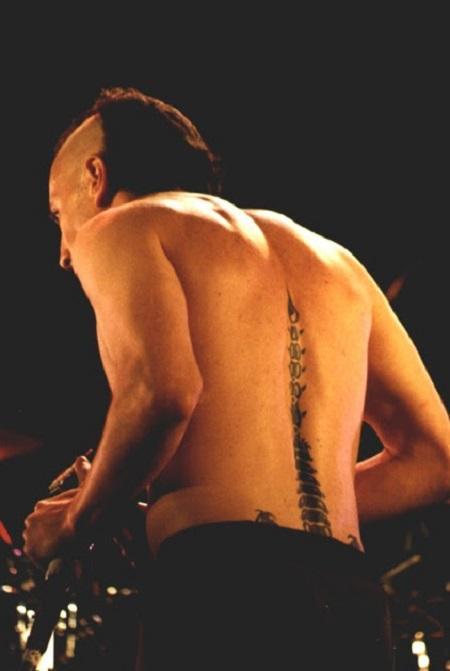 Maynard James Keenan's Scorpion tattoo.