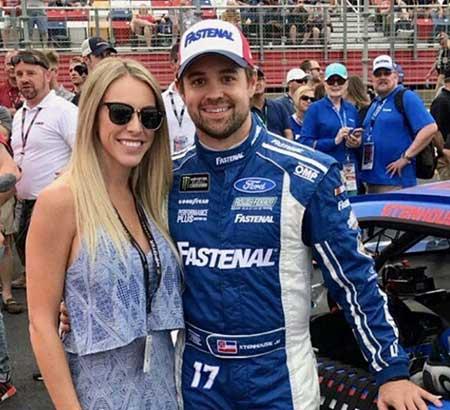 Danica Patrick and her ex-boyfriend Ricky Stenhouse