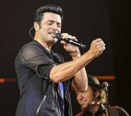 Latin pop singer Chayanne is Lele Pons' uncle