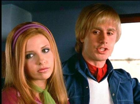 Freddie played Sarah's boyfriend in the 2002 film Scooby-Doo