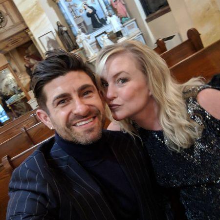 Aaron Marino and Wife Tracey Woodard Marino.