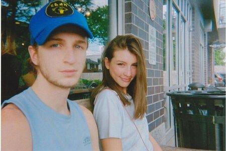 Drew Starkey with rumored girlfriend Rachel Fox Marie.