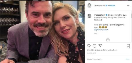 Rhea Seehorn wishes her fiance his birthday in a cute Instagram post