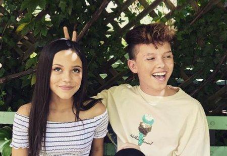 Jenna and rumored boyfriend Jacob Sartorius.