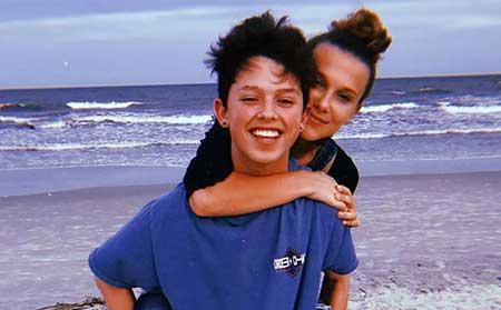 Jacob Sartorius girlfriend Millie Bobby Brown