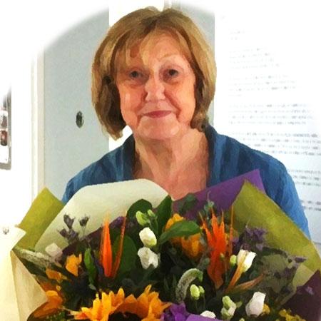 Sam Heughan's mother Chrissie Heughan