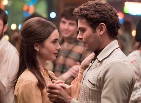 Lily Collins and Zac Effron in Ted Bundy movie.