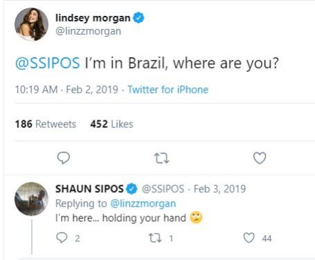 Shaun Sipos in a relationship with actress Lindsey Morgan