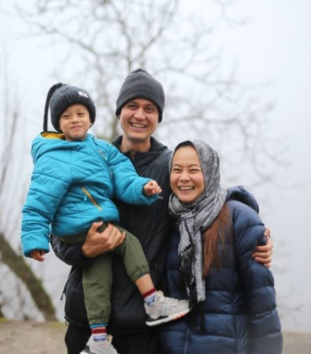 Mark Wiens Wife Ying and Son Micah