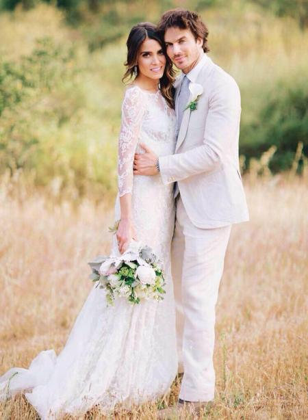 Ian Somerhalder and Nikki Reed Wedding Dress