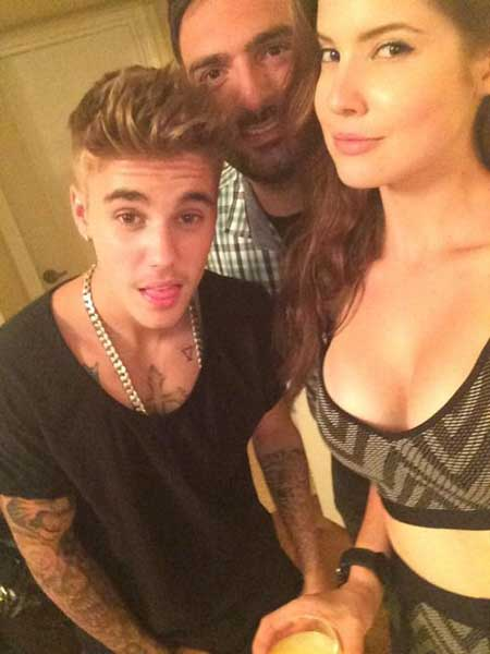 Amanda Cerny and Justin Bieber were reported to be dating