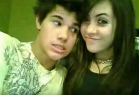 Taylor Lautner and his first girlfriend Sara Hicks