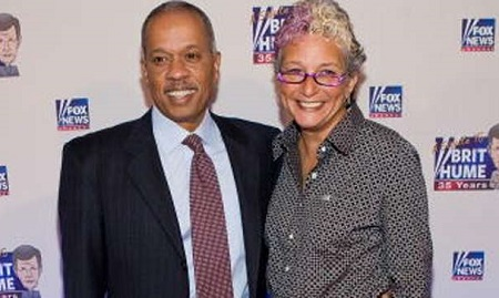 Juan Williams wife Susan Delise; they are married for four decades.