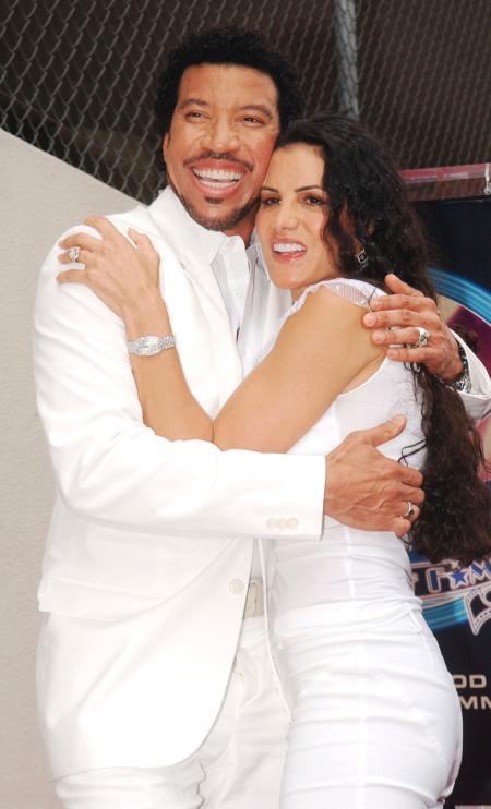 Diane Alexander with ex-husband Lionel Richie (1)
