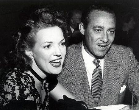 Katherine Pine's grandparents Anne Gwynne and Max Gilford