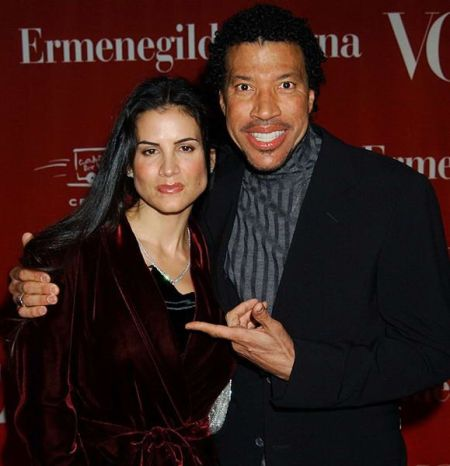 Lionel Richie second wife Diane Alexander