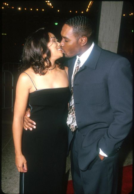 Pam Byse husband Morris Chestnut is an actor