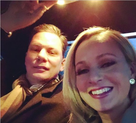 Sandra Smith and her Husband on a Date Night