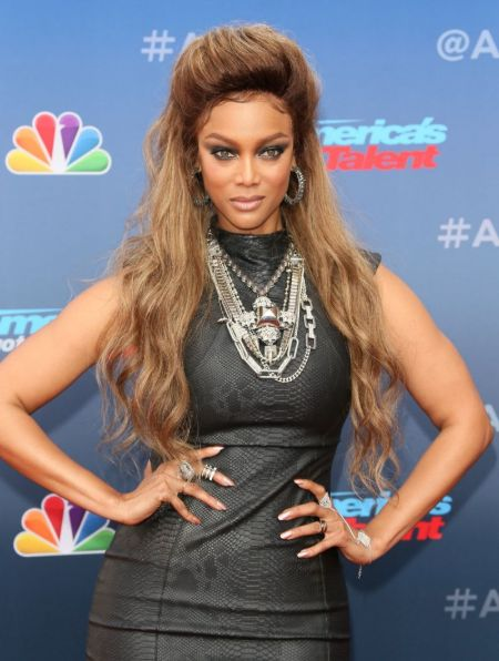 American television personality & Model Tyra Banks