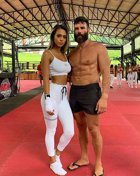 Dan Bilzerian and Desiree Scholtz dated in 2019