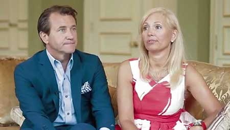 Diane Plese and Robert Herjavec met in the late '80s when he has an eye appointment with her