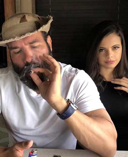 Dan Bilzerian and his ex-girlfriend Katie Bell