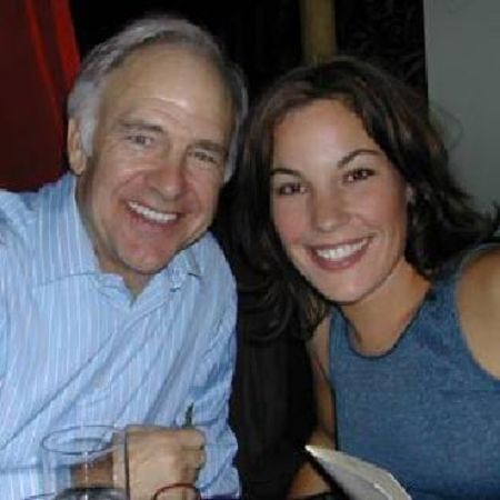 katie pine with father Robert Pine