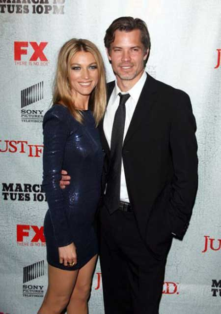 Alexis Knief and husband Timothy Olyphant married in 1991