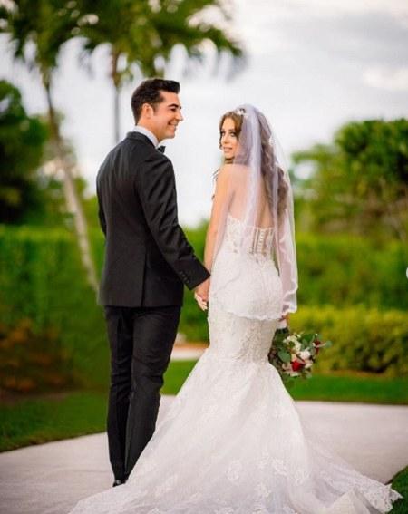 Jesse Watters and wife Emma DiGiovine married in 2019.