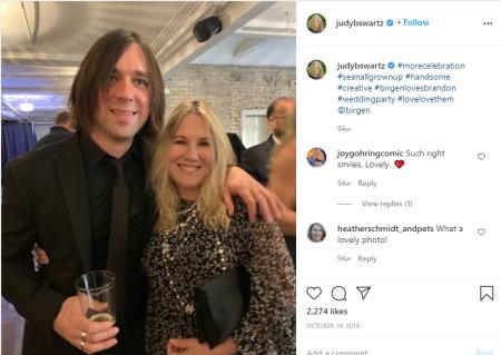 Sean Edward Hartman attended his sister's wedding