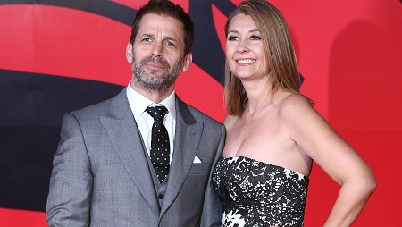 Zack Snyder with his second spouse Deborah Snyder.