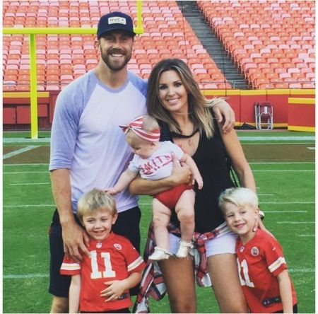 Elizabeth Barry has three children with her husband