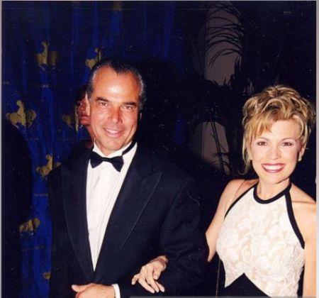 George Santo Pietro with Ex-wife Vanna White