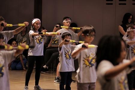 Bruce Lee Foundation helps children to encourage their power.