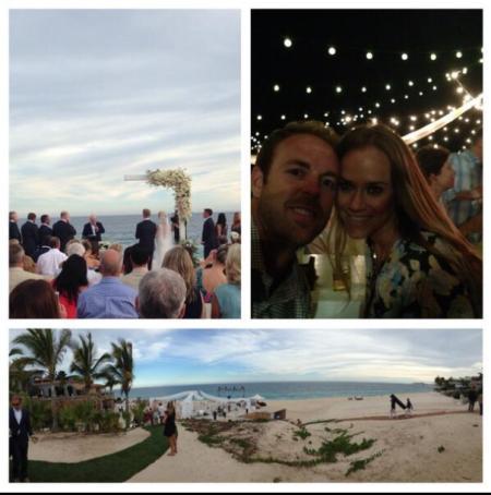 Joe Buck and Michelle Beisner Wedding
