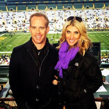 Joe Buck and Michelle Beisner