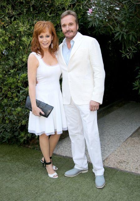 Narvel Blackstock and ex-wife Reba McEntire