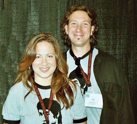 Shannon Lee and her husband Ian Keasler.