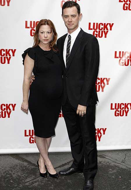 Samantha Bryant and husband Colin Hanks