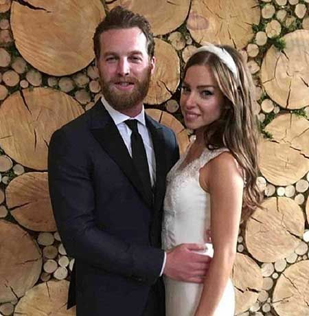 Jared Keeso and wife Magali Brunelle