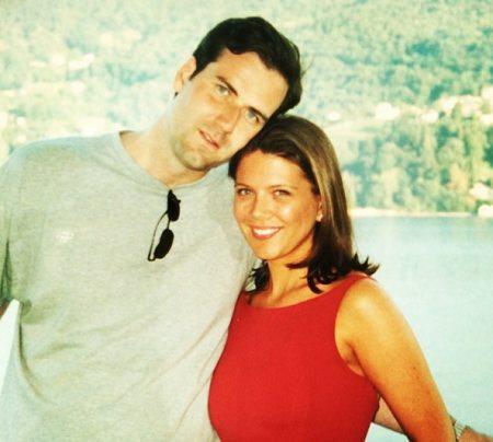 James A. Ben and his wife Trish Regan