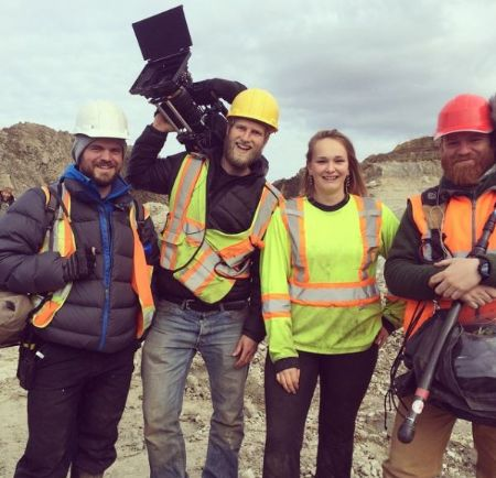 Beets With the Gold Rush Filming Crew