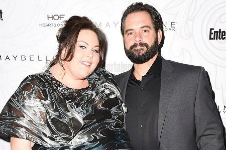 Chrissy Metz with her now ex-boyfriend Josh Stancil