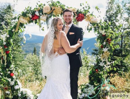 Monica Beets Wedding with Husband Taylor Mayes