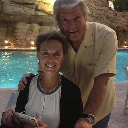 Rhonda Rookmaaker and her husband, Jimmy Johnson