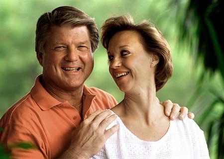 Rhonda and Jimmy Johnson