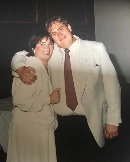 Rosemary Margaret Hobor and her late husband, John Candy