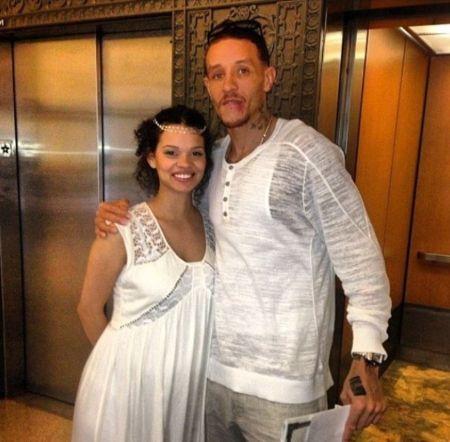 Caressa Suzzette Madden With Her Husband Delonte West