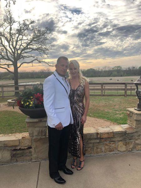 Charlotte Hopkins With Husband Rick Hagen
