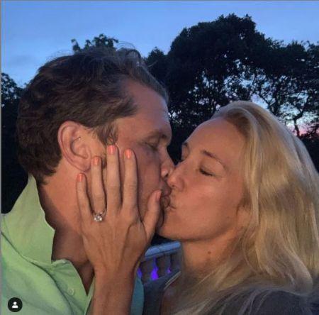 Jennifer Rauchet got engaged to Pete in July 2019